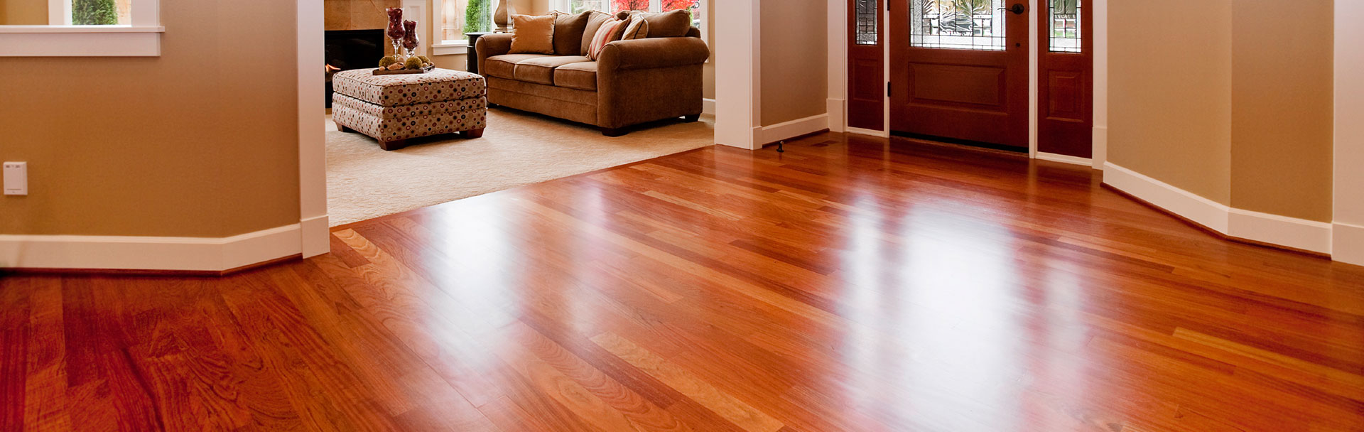 Call Us about Dust-Free Hardwood Floor Sanding, Refinishing & Repairs