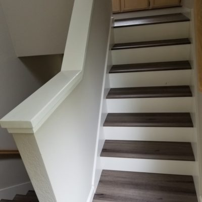 LVT Flooring Sales & Installation, Sunnyvale: Stairway,Third Flight.