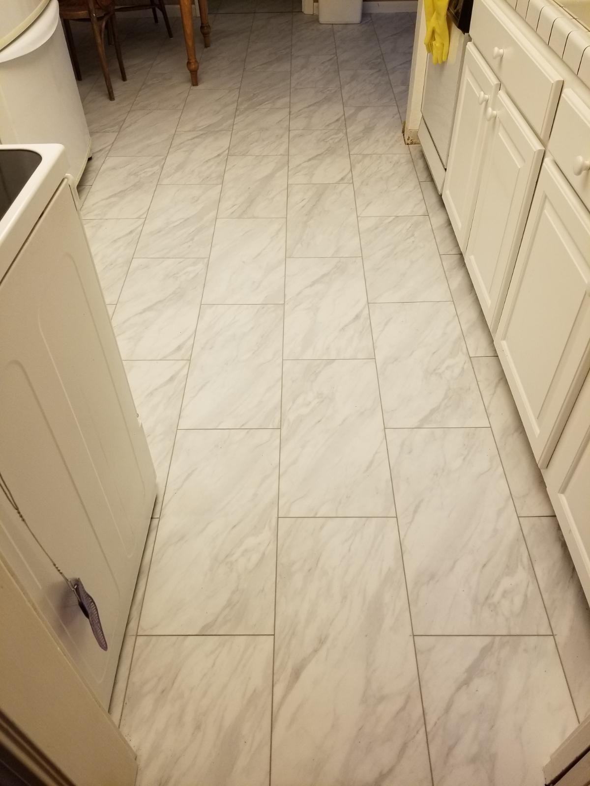 Cupertino - Install LVT (luxury vinyl tile) to kitchenette.