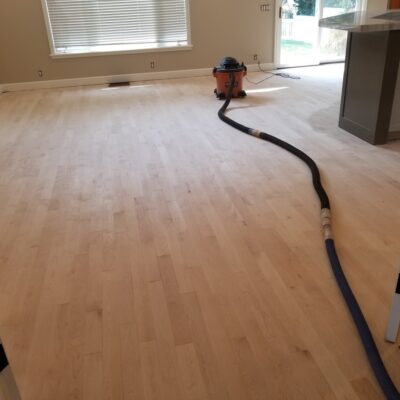 Replacing carpeting with LVT flooring adds value to this home.