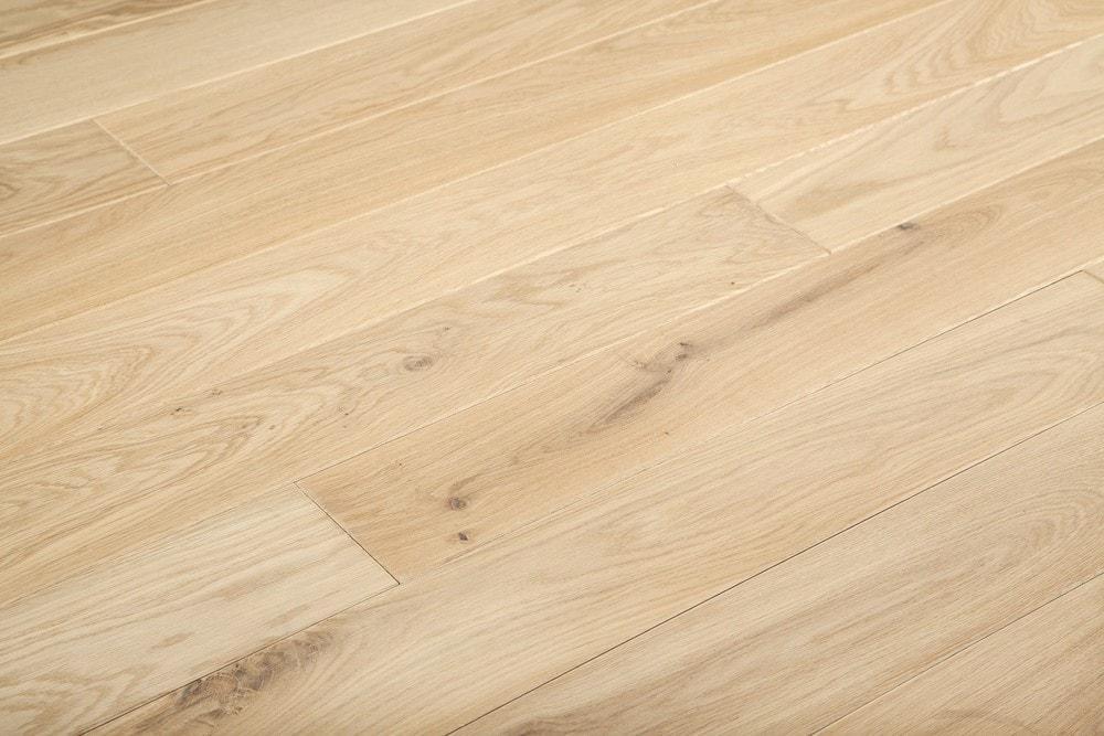 White oak solid hardwood flooring.