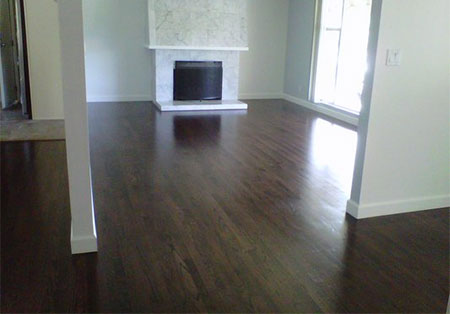 After photo - hardwood floor installer review