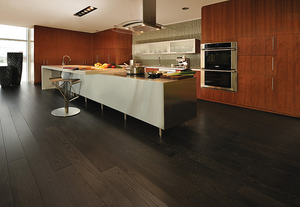 Achieving Dark Hardwood Floors Without The High Installation Cost