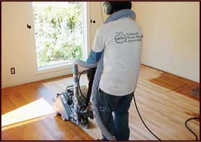 No dust floor sanding