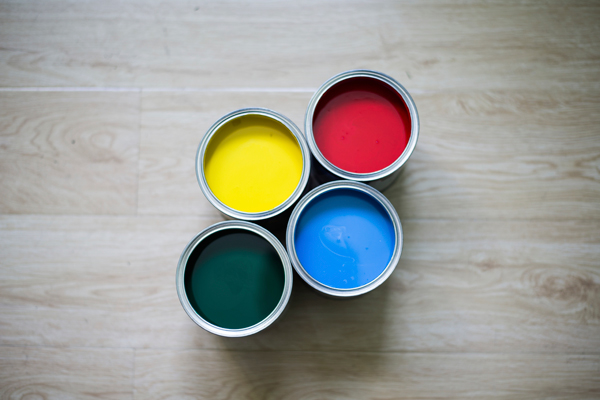 Matching paint with wood floors tips