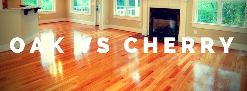 oak hardwood floors or cherry hardwood floors