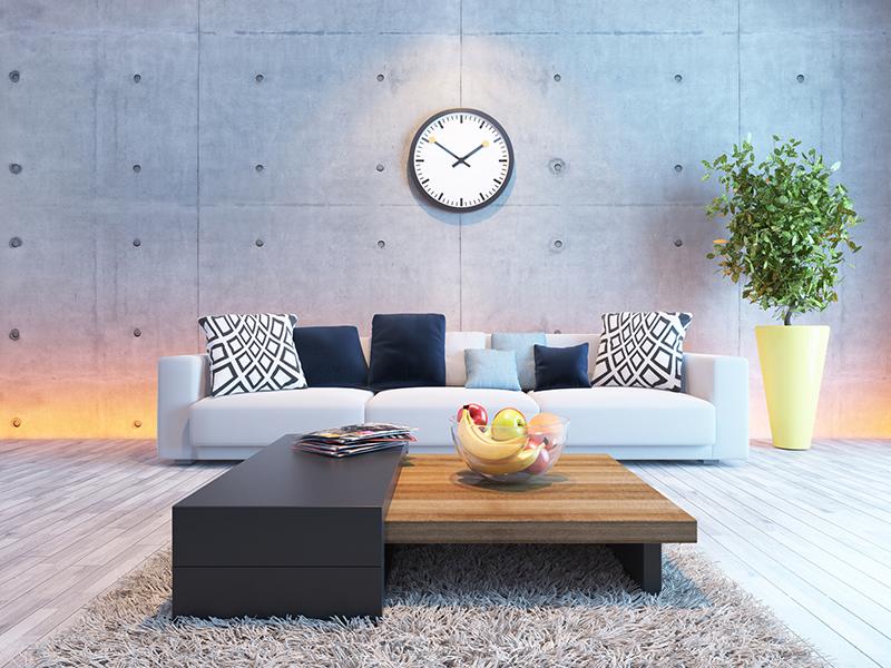 gray floor design tips