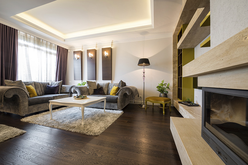 choosing the right are wood floor color for the room